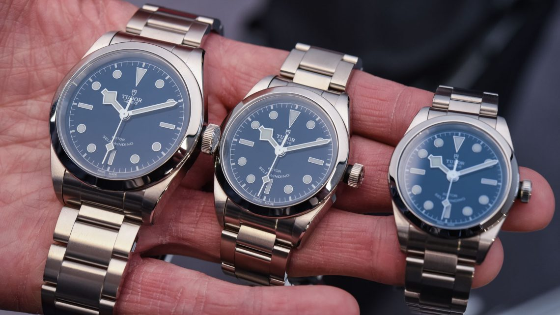 tudor black bay blue dials