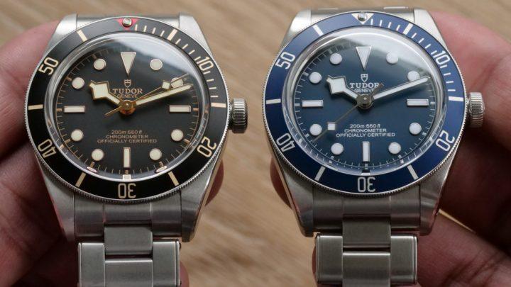 Tudor Black Bay Fifty-Eight Navy Blue watch