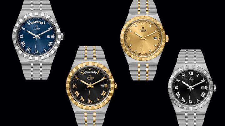 vintage tudor royal watch
