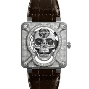 BR 01 LAUGHING SKULL FULL DIAMOND