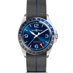 BR V2-93 GMT BLUE Strap