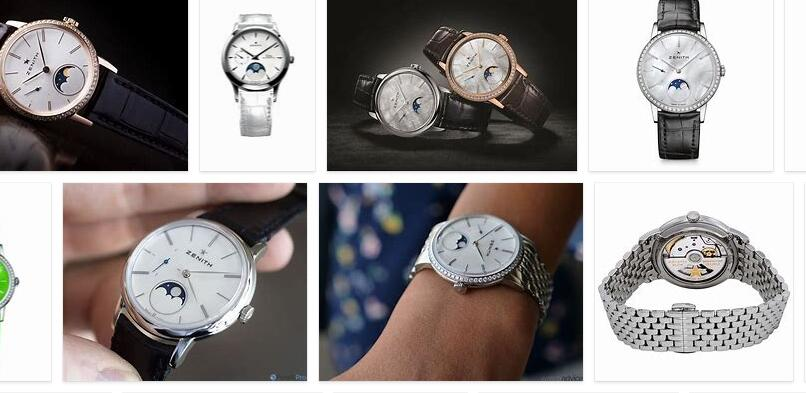 ZENITH lady watch moon