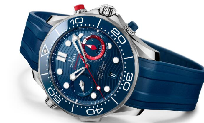 Omega Unveils Seamaster Diver 300M America's Cup Chronograph